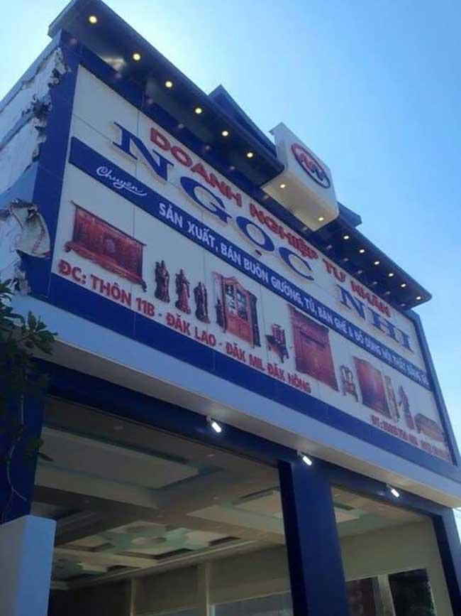 thi cong lam bang hieu quang cao 116 1 - Làm bảng hiệu quảng cáo giá rẻ tại quận 4