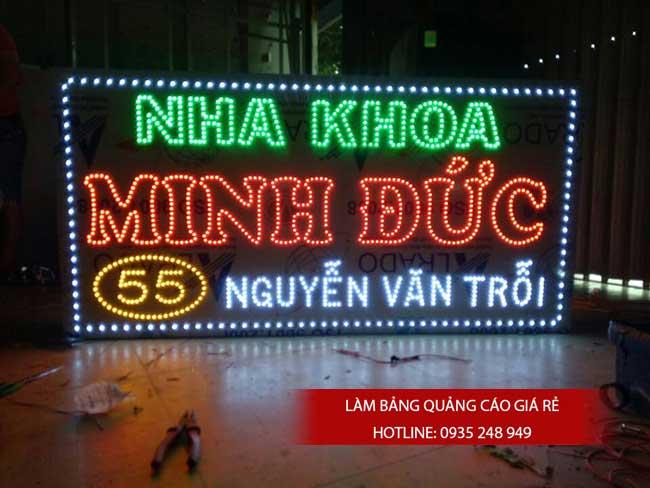 thi cong lam bang hieu quang cao 119 - Làm bảng hiệu quảng cáo giá rẻ tại quận tân phú