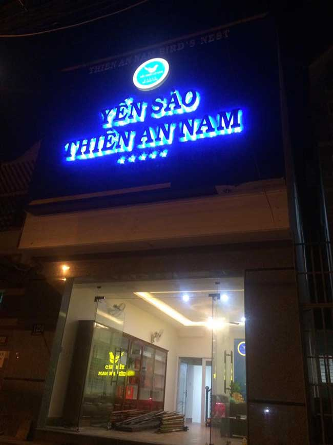 thi cong lam bang hieu quang cao 12 1 - Làm bảng quảng cáo tại đường Trương Phước Phan quận Bình Tân