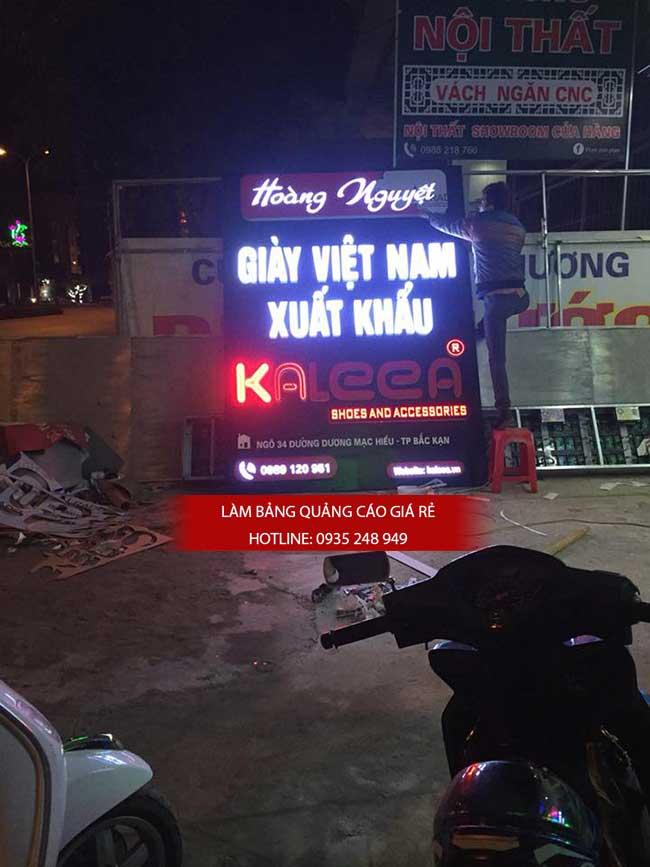 thi cong lam bang hieu quang cao 120 - Làm bảng hiệu quảng cáo đường số 7 Bình Tân