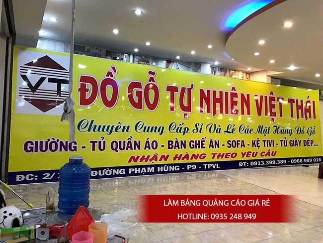 thi cong lam bang hieu quang cao 124 - Làm bảng hiệu quảng cáo đường Hồ Học Lãm, quận Bình Tân