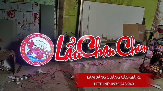 thi cong lam bang hieu quang cao 129 - Làm bảng hiệu quảng cáo đường số 7 Bình Tân