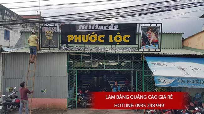 thi cong lam bang hieu quang cao 133 - Làm bảng hiệu quảng cáo đường số 7 Bình Tân