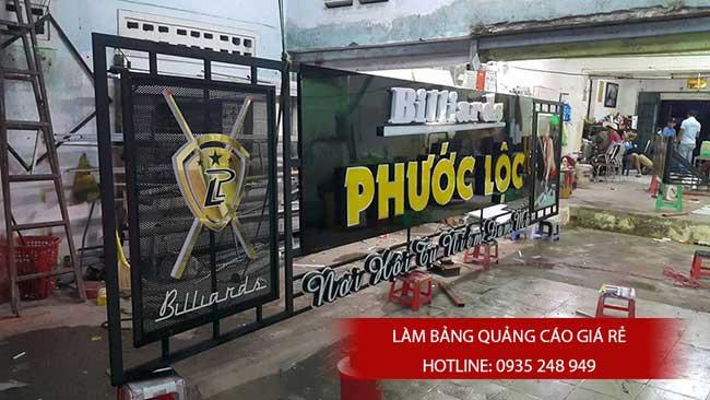 thi cong lam bang hieu quang cao 135 - Làm bảng hiệu quảng cáo đường số 7 Bình Tân