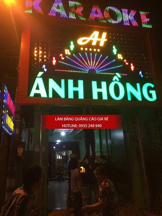 thi cong lam bang hieu quang cao 139 - Làm bảng hiệu quảng cáo đường số 7 Bình Tân