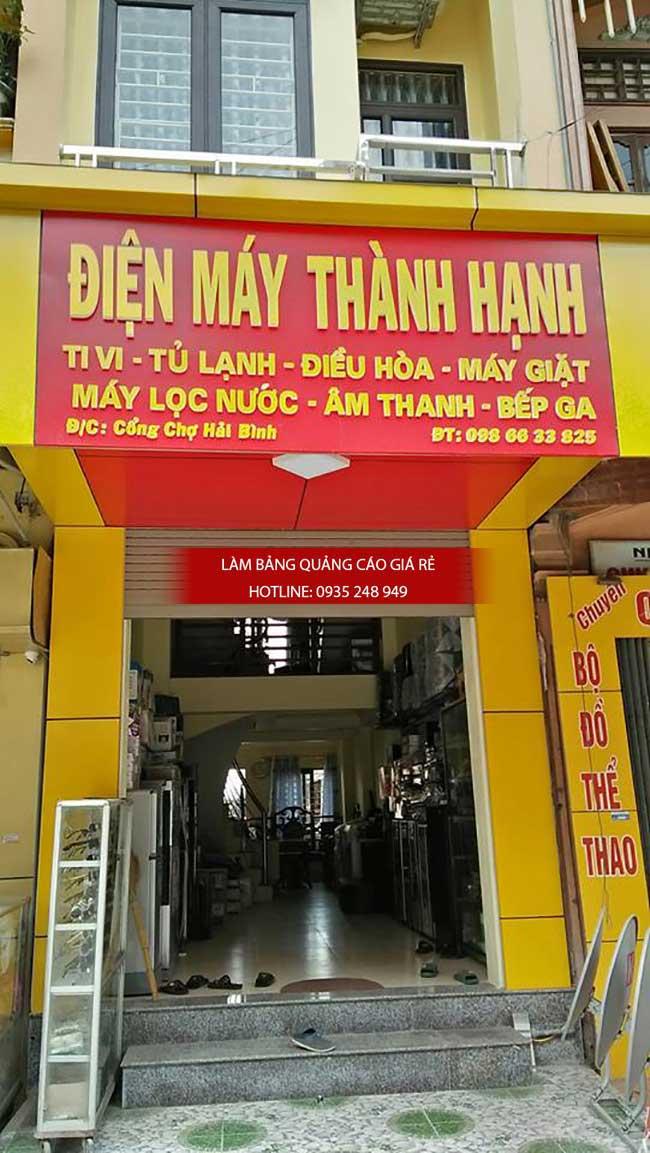thi cong lam bang hieu quang cao 147 - Làm bảng hiệu quảng cáo đường số 7 Bình Tân