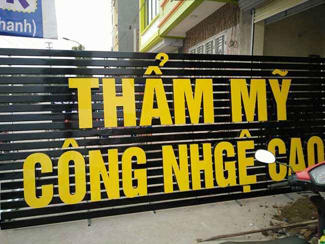 thi cong lam bang hieu quang cao 153 1 - Làm bảng hiệu quảng cáo giá rẻ tại quận tân phú