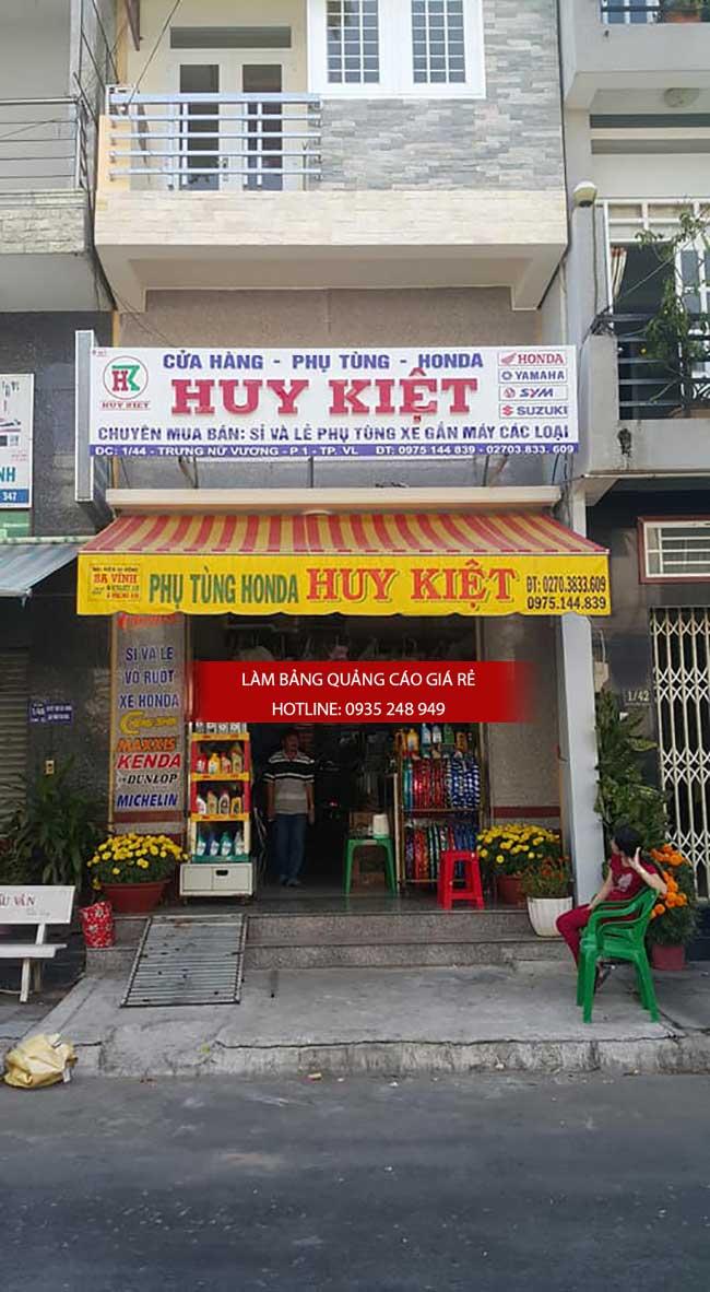 thi cong lam bang hieu quang cao 154 - Làm bảng hiệu quảng cáo đường số 7 Bình Tân