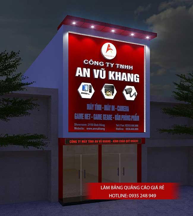 thi cong lam bang hieu quang cao 156 - Làm bảng hiệu quảng cáo đường số 7 Bình Tân