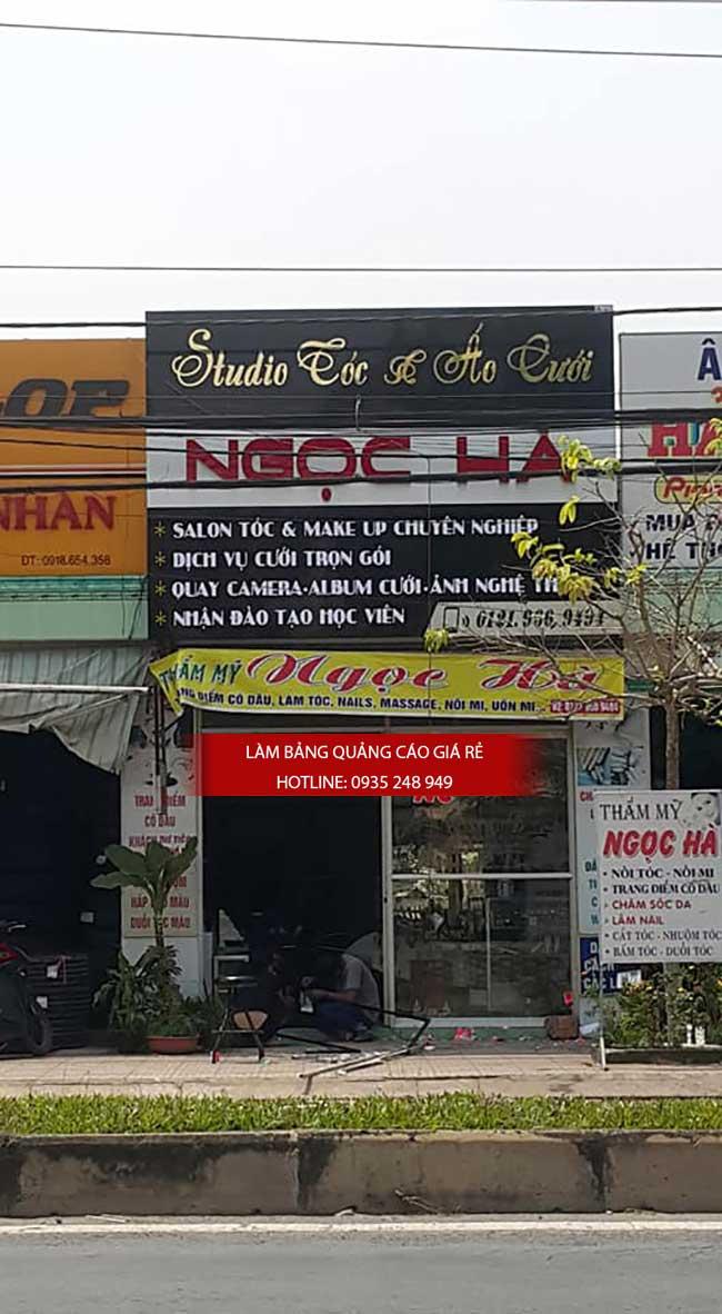 thi cong lam bang hieu quang cao 161 - Làm bảng hiệu quảng cáo đường số 7 Bình Tân