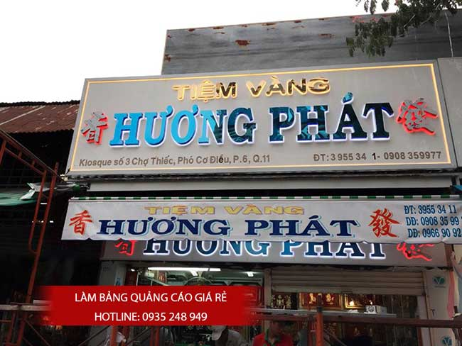 thi cong lam bang hieu quang cao 166 - Làm bảng quảng cáo tại đường Trương Phước Phan quận Bình Tân