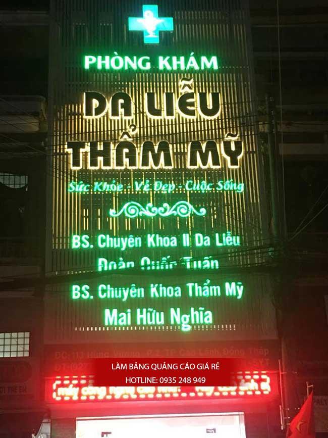 thi cong lam bang hieu quang cao 167 - Làm bảng quảng cáo tại đường Tân Sơn Nhì quận Tân Phú