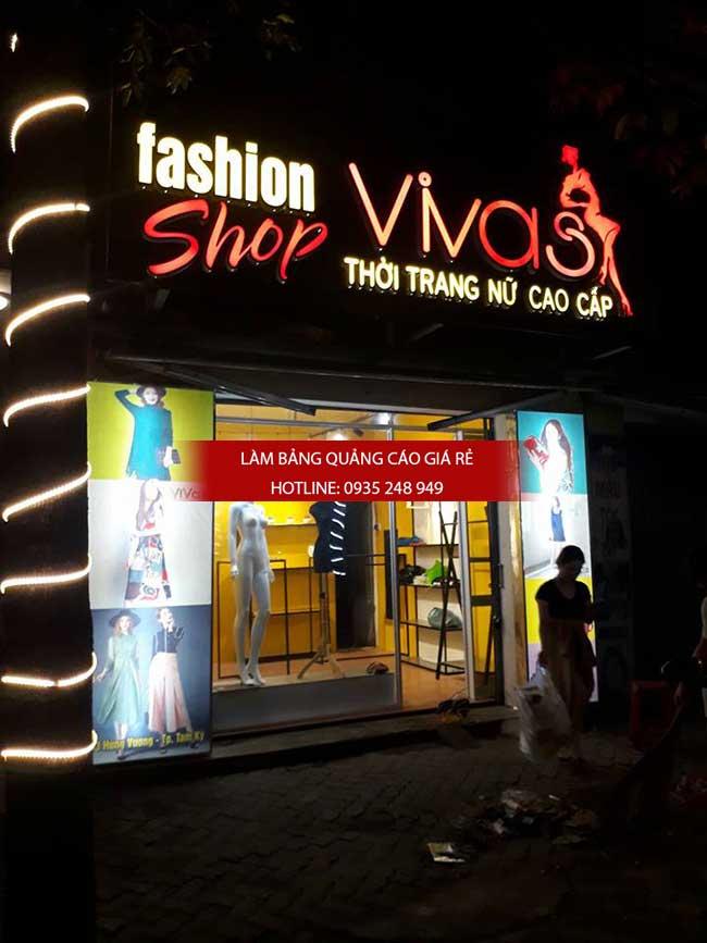 thi cong lam bang hieu quang cao 183 - Làm bảng quảng cáo tại đường Tân Sơn Nhì quận Tân Phú