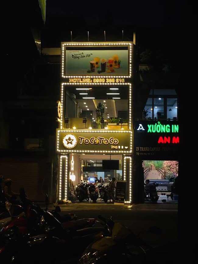 thi cong lam bang hieu quang cao 214 - Làm bảng hiệu quảng cáo giá rẻ tại quận 4