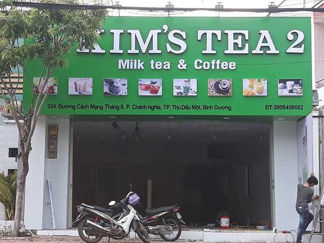 thi cong lam bang hieu quang cao 243 - Làm bảng hiệu quảng cáo giá rẻ tại quận tân phú