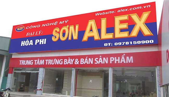 thi cong lam bang hieu quang cao 374 - Làm bảng quảng cáo tại đường Tân Sơn Nhì quận Tân Phú
