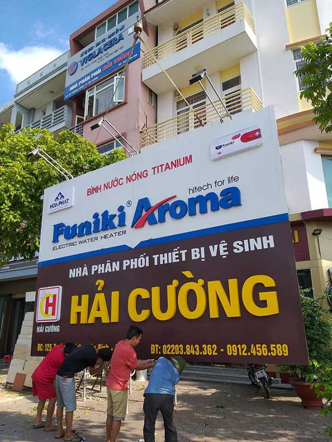 thi cong lam bang hieu quang cao 38 1 - Làm bảng quảng cáo tại đường Tân Sơn Nhì quận Tân Phú