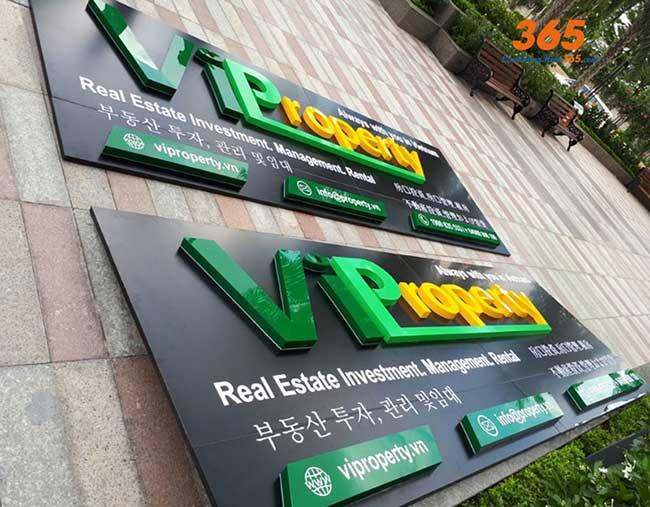 thi cong lam bang hieu quang cao 384 - Làm bảng quảng cáo tại đường Lê Văn Quới, quận Bình Tân