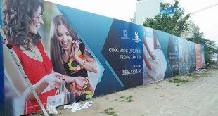 thi cong lam bang hieu quang cao 399 310x165 - Làm bảng quảng cáo tại đường Thoại Ngọc Hầu