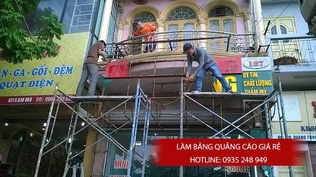 thi cong lam bang hieu quang cao 4 - Làm bảng quảng cáo tại đường tỉnh lộ 10 quận Bình Tân