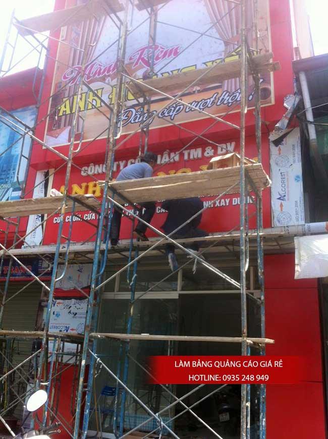 thi cong lam bang hieu quang cao 40 - Làm bảng quảng cáo tại đường tỉnh lộ 10 quận Bình Tân