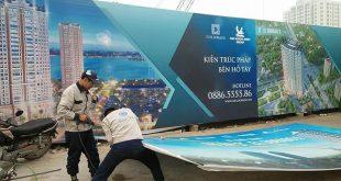 thi cong lam bang hieu quang cao 410 310x165 - Làm bảng hiệu quảng cáo đường Kinh Dương Vương