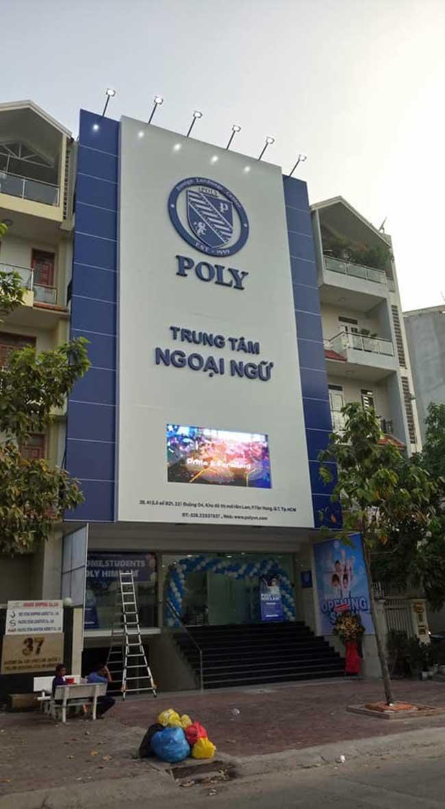 thi cong lam bang hieu quang cao 425 - Làm bảng quảng cáo tại đường Tân Sơn Nhì quận Tân Phú