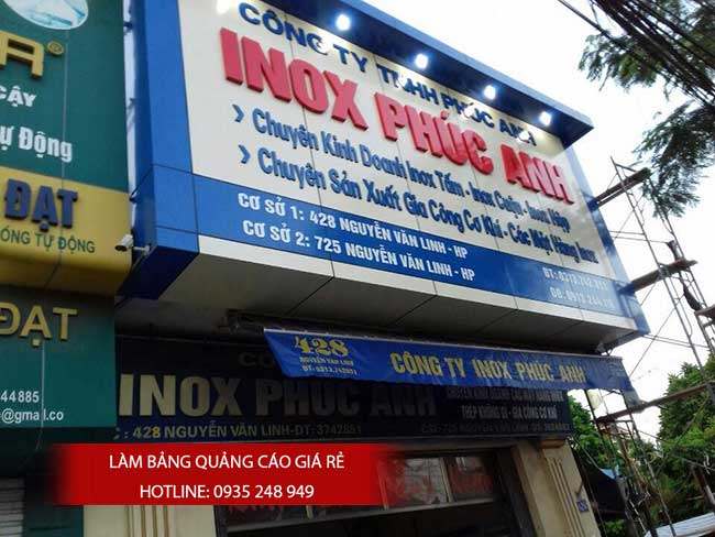 thi cong lam bang hieu quang cao 54 - Làm bảng quảng cáo tại đường tỉnh lộ 10 quận Bình Tân