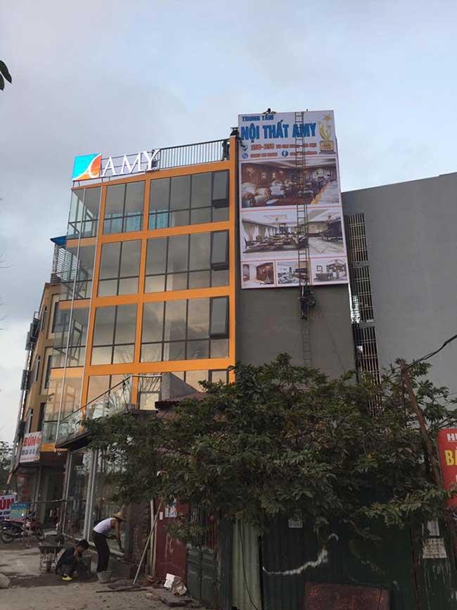 thi cong lam bang hieu quang cao 544 - Làm bảng hiệu quảng cáo giá rẻ tại quận tân phú