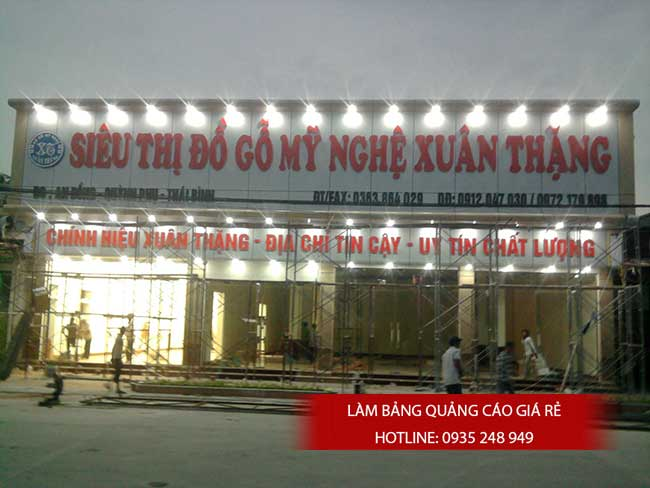 thi cong lam bang hieu quang cao 7 - Làm bảng quảng cáo tại đường tỉnh lộ 10 quận Bình Tân