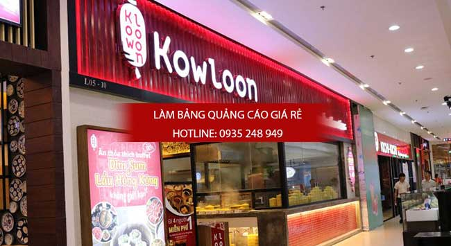 lam bang hieu alu nha hang 8 - Làm bảng hiệu quảng cáo giá rẻ tại quận 4