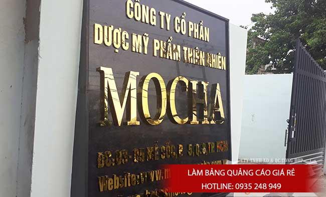 lam bang hieu quang cao quan 5 9 - Làm bảng hiệu công ty đẹp uy tín tại tp hcm
