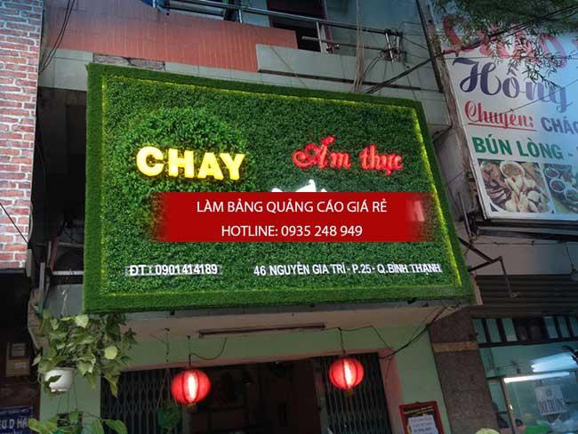 mau bang hieu nha hang dep 27 - Làm bảng hiệu quảng cáo giá rẻ tại quận 3