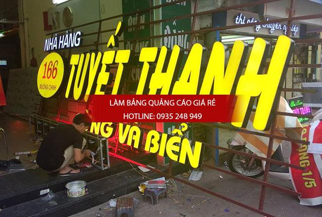 mau bang hieu nha hang dep 31 - Làm bảng hiệu quảng cáo giá rẻ tại quận 8