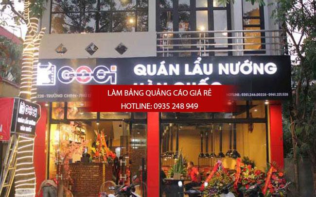 mau bang hieu nha hang quan an 3 - Làm bảng hiệu quảng cáo giá rẻ tại quận 3
