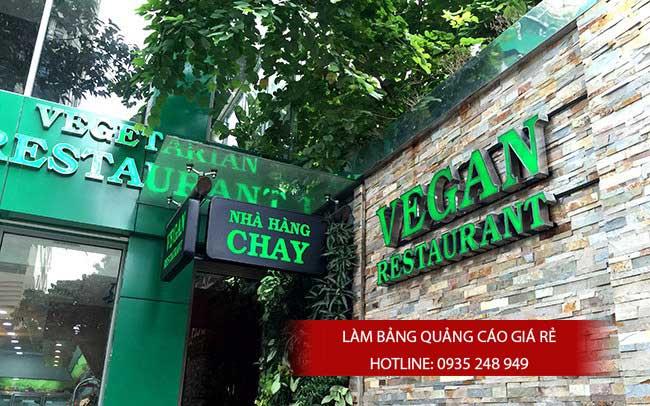 mau bang hieu quan an nha hang dep 18 - Làm bảng hiệu chữ nổi mica quận Tân Phú