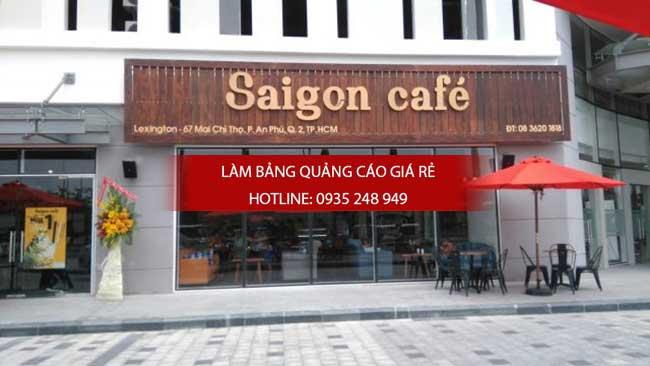 mau bang hieu quan cafe dep 30 - Làm bảng hiệu quảng cáo giá rẻ tại quận 11