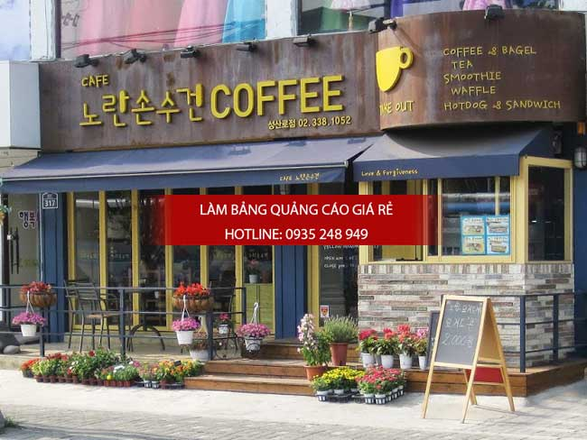 mẫu bảng nhà quán cafe