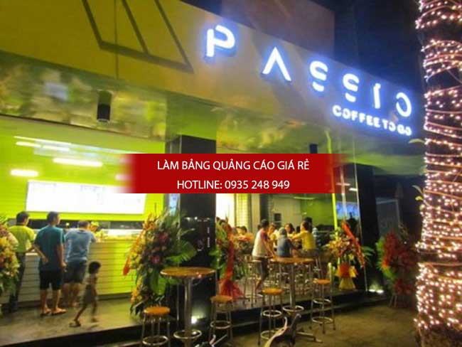 mau bang hieu quan cafe dep 40 - Làm bảng hiệu chữ nổi mica quận Tân Phú