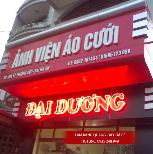 thi cong lam bang hieu quang cao 10 1 - Làm bảng hiệu quảng cáo giá rẻ tại quận Tân Phú TP HCM