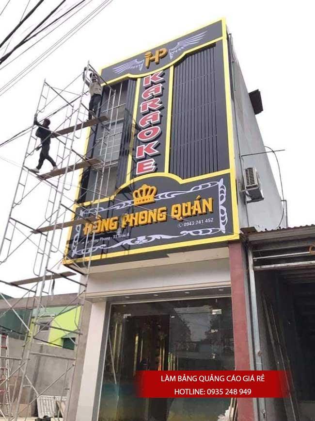 thi cong lam bang hieu quang cao 120 - Làm bảng hiệu quảng cáo giá rẻ tại quận 12
