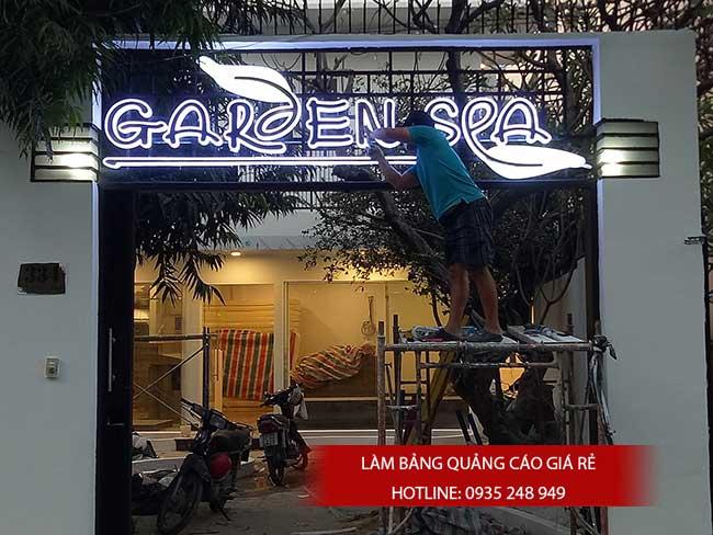 thi cong lam bang hieu quang cao 128 - Làm bảng quảng cáo tại đường Lê Văn Quới quận Bình Tân
