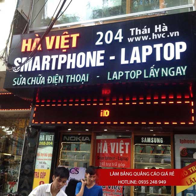 thi cong lam bang hieu quang cao 13 1 - Làm bảng hiệu chữ nổi mica quận Tân Phú