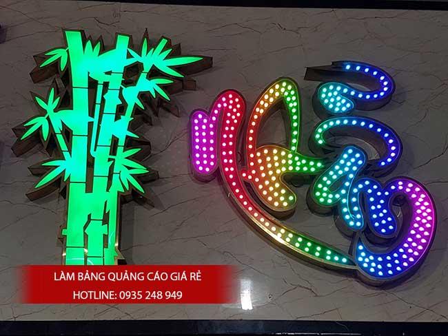 thi cong lam bang hieu quang cao 130 1 - Làm bảng hiệu quảng cáo giá rẻ tại quận Tân Phú TP HCM