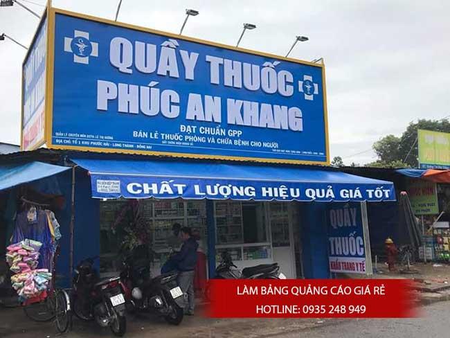 thi cong lam bang hieu quang cao 134 - Làm bảng quảng cáo tại đường Lê Văn Quới quận Bình Tân