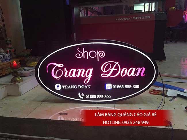 thi cong lam bang hieu quang cao 140 1 - Làm bảng hiệu quảng cáo giá rẻ tại quận 8