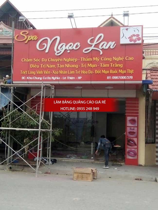 thi cong lam bang hieu quang cao 144 1 - Làm bảng hiệu quảng cáo giá rẻ tại quận 8