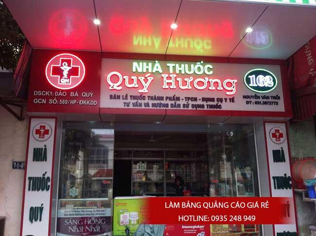thi cong lam bang hieu quang cao 15 1 - Làm bảng hiệu quảng cáo giá rẻ tại quận Tân Phú TP HCM