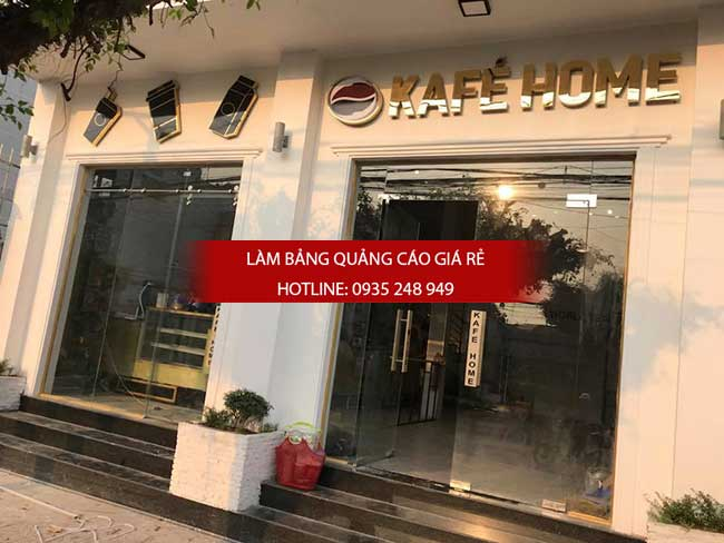 thi cong lam bang hieu quang cao 150 1 - Làm bảng hiệu quảng cáo giá rẻ tại quận 8