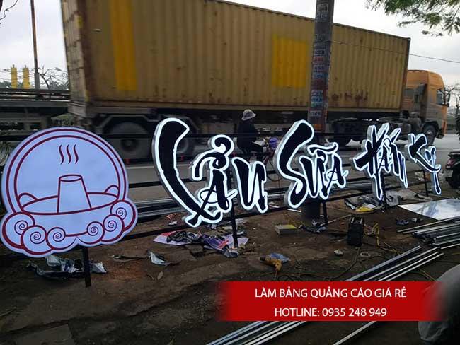 thi cong lam bang hieu quang cao 154 - Làm bảng quảng cáo tại đường Lê Văn Quới quận Bình Tân